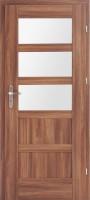 Drzwi Verona - skrzydło ramowe SOFT okleinowane